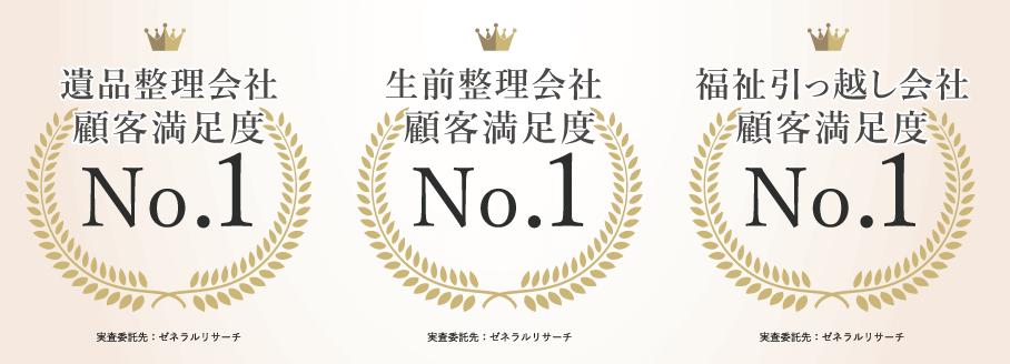 大阪のアーチグリーンが顧客満足度第1位に選ばれました!