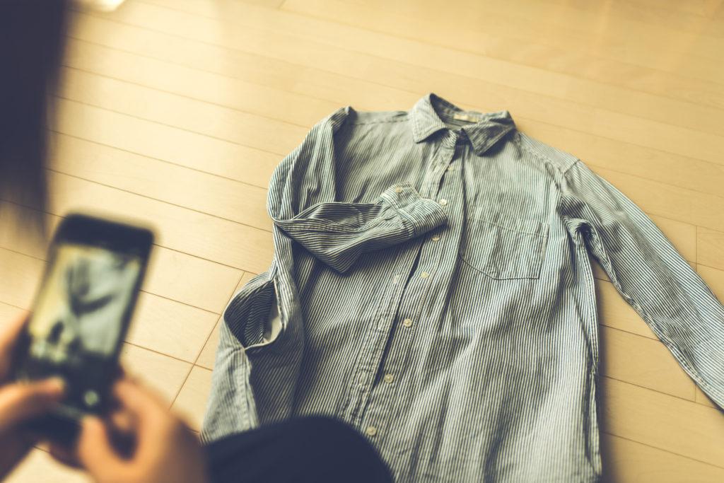 故人の洋服