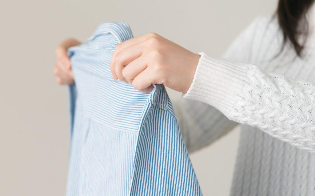 衣類の整理イメージ