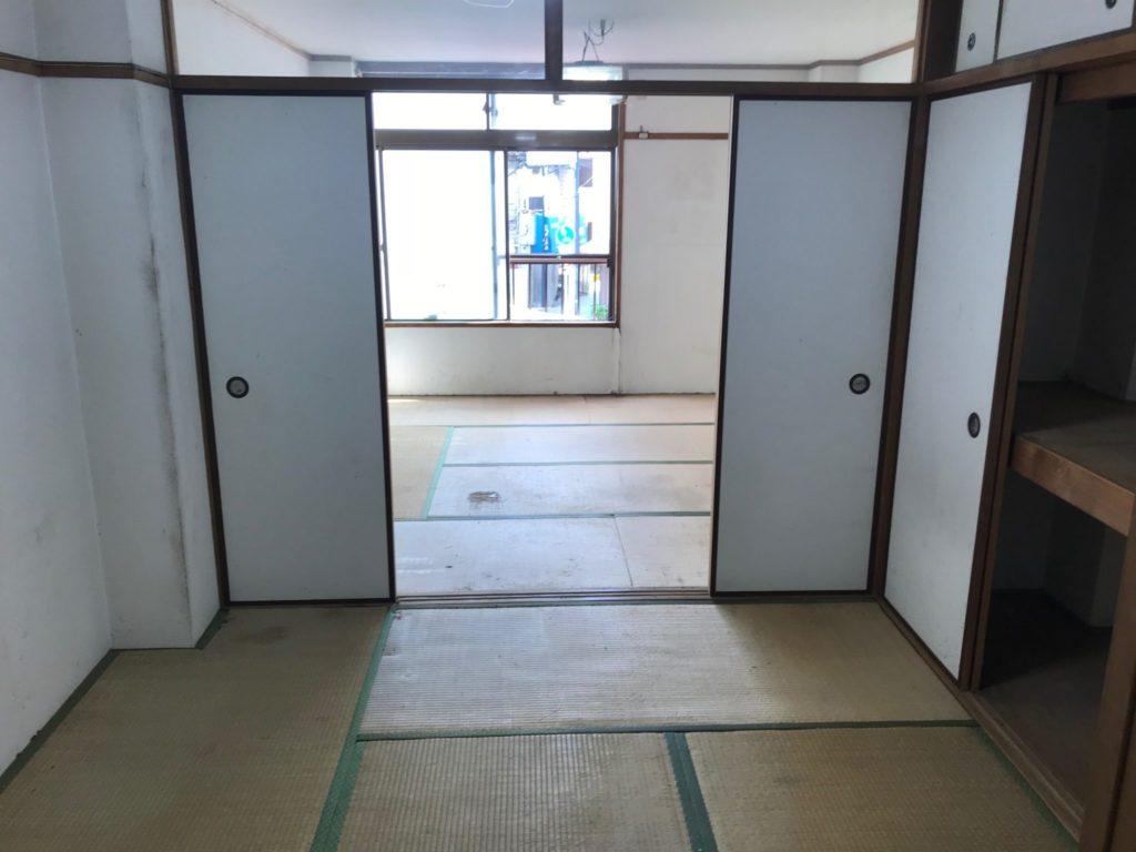 賃貸アパートの遺品整理|大阪市城東区