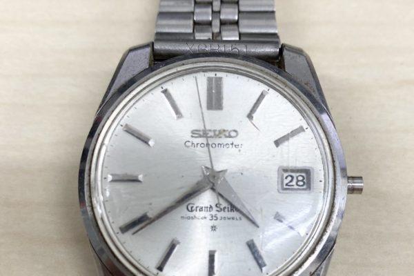 遺品買取時に出てきたセイコーのグランドセイコー腕時計