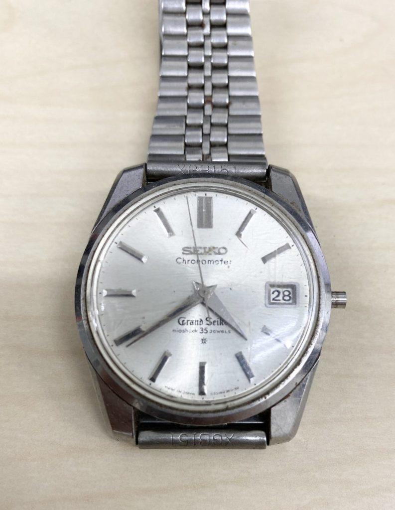遺品買取した腕時計
