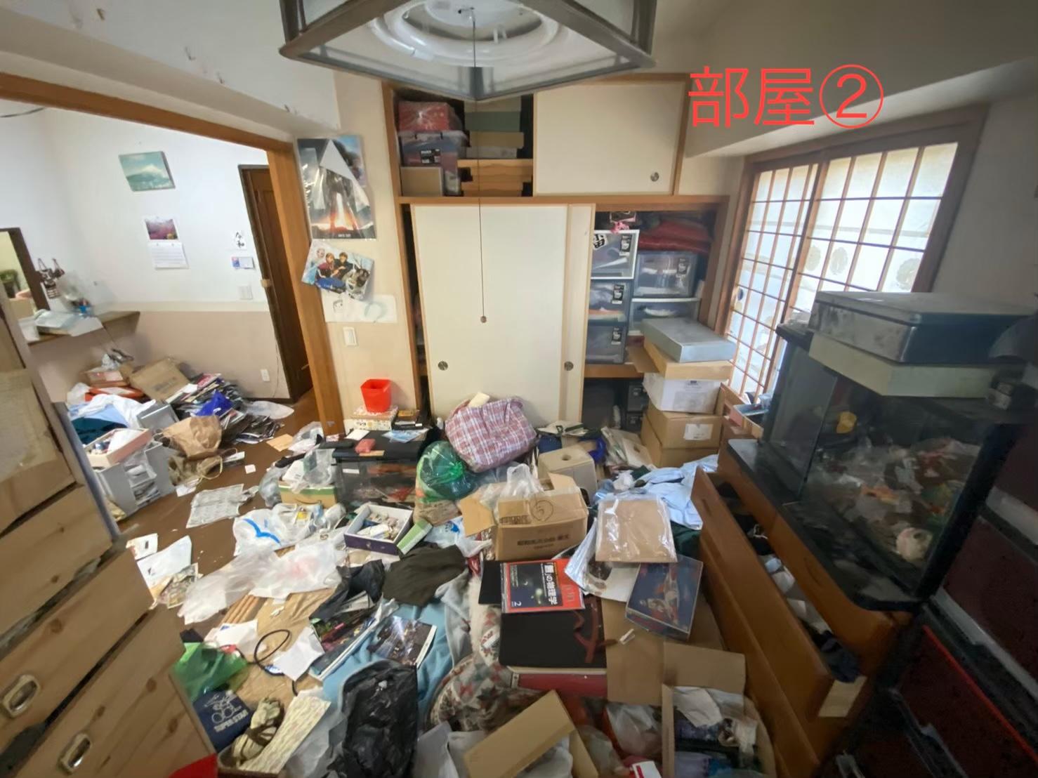 大阪市浪速区のゴミ屋敷